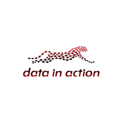 Логотип «Data in action&raquo