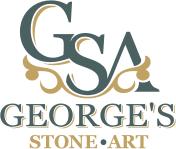 George's stone art