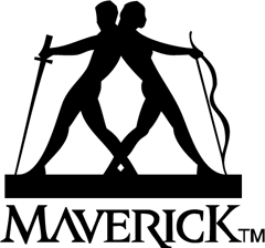 Логотип Maverick Records
