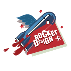 Логотип Rocket Design