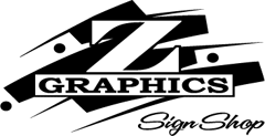 Логотип Z Graphics Sign Shop
