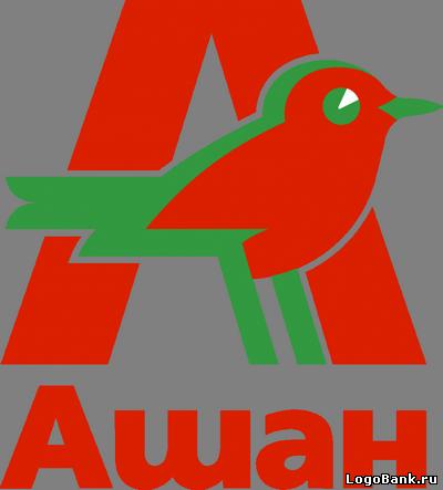 Логотип «Ашан&raquo