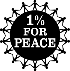 1 percent for peace