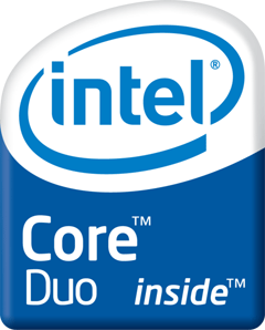 Логотип Intel Core Duo