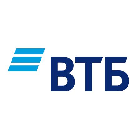 Новый логотип ВТБ (с 2018 года)